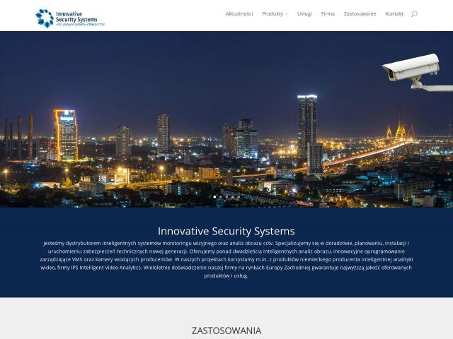 Innovative Security Systems Sp. z o.o. - Analiza obrazu w kamerach